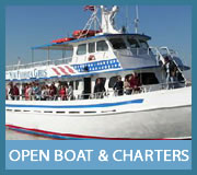 Open Boat and Group Charters
